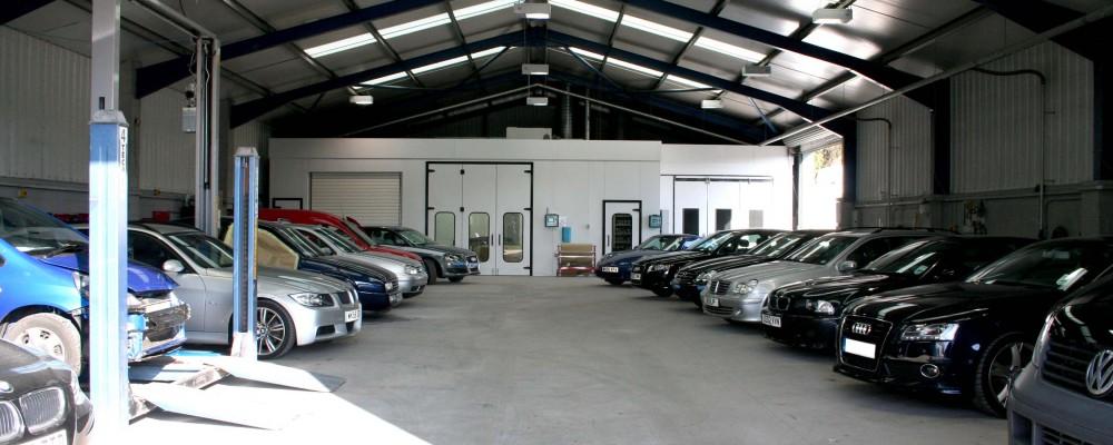 Vehicle car body repairs Cornwall